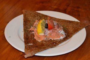 galette saumon fumé creperie redon